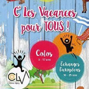 Vacances été 2019 CLV