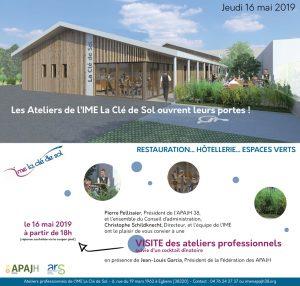 Inauguration ateliers Clé de Sol