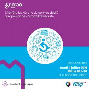 40 ans du service Flexo + PMR de la TAG