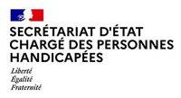 Logo Secrétariat d'Etat chargé des Personnes Handicapées
